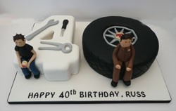 Miraculous 40Th Birthday Cakes By Fun Cakes Funny Birthday Cards Online Bapapcheapnameinfo