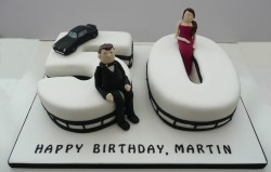 James bond 50th Cake