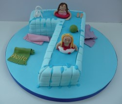 Numbered Birthday Cakes By Fun Cakes