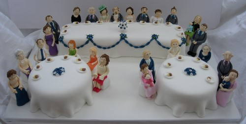 Wedding cakes, handmade and designed by Fun Cakes